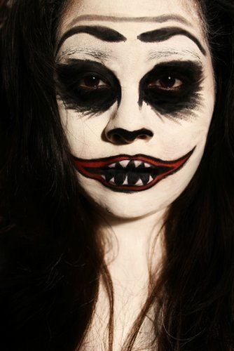 99 Halloween Costumes From Reddit That Are Terrifyingly Gorgeous - cool makeup ideas for halloween