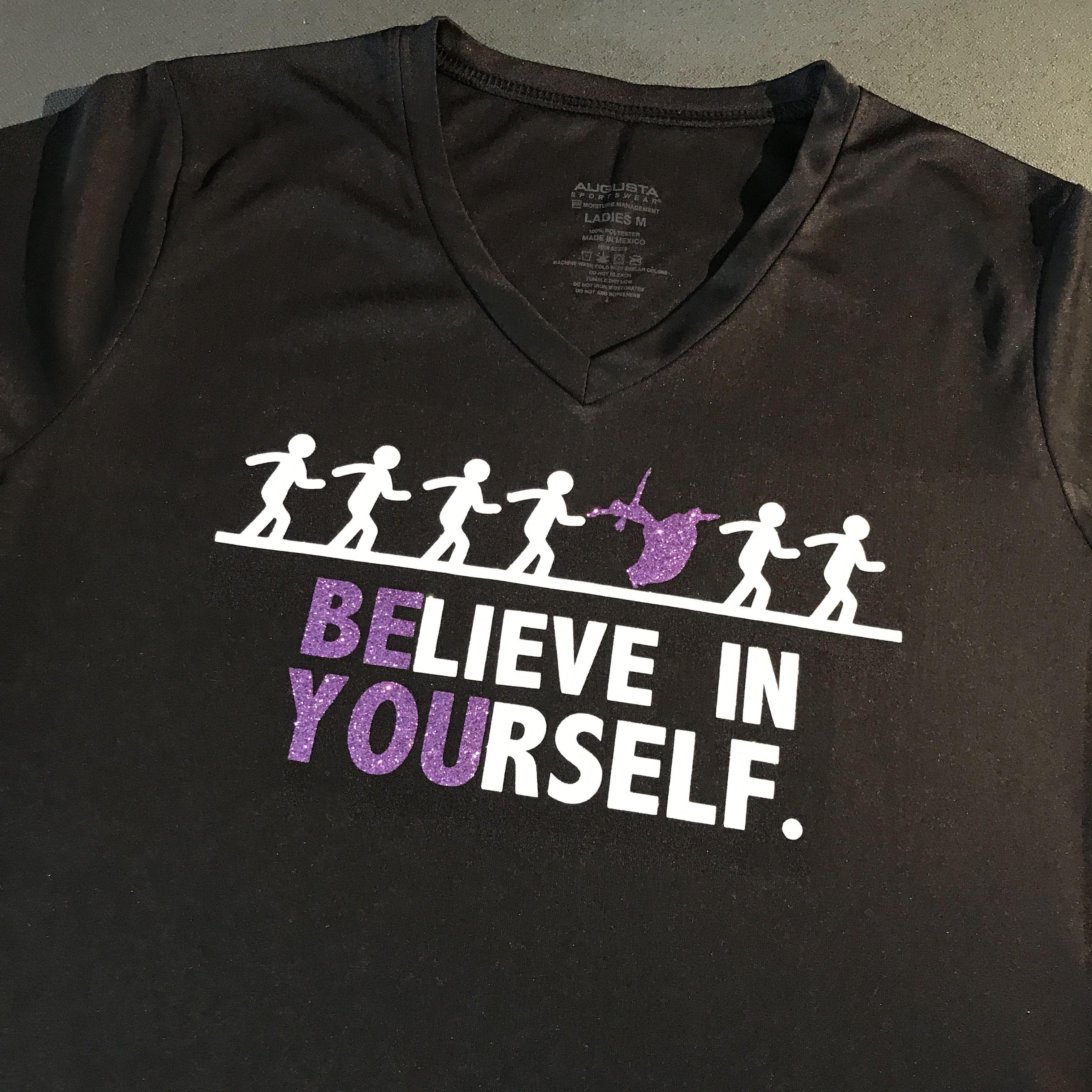 Believe In Yourself Tshirt Praise Dance Garments Dance Garments Praise Dance