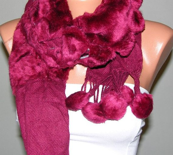 Shawl & Scarf with Lace, $19.00 by Fatwoman