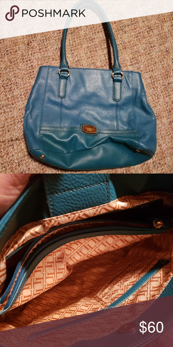 3b0738f587 Beautiful turquoise blue purse In excellent shape. Hardly used! Tignanello  Bags Shoulder Bags