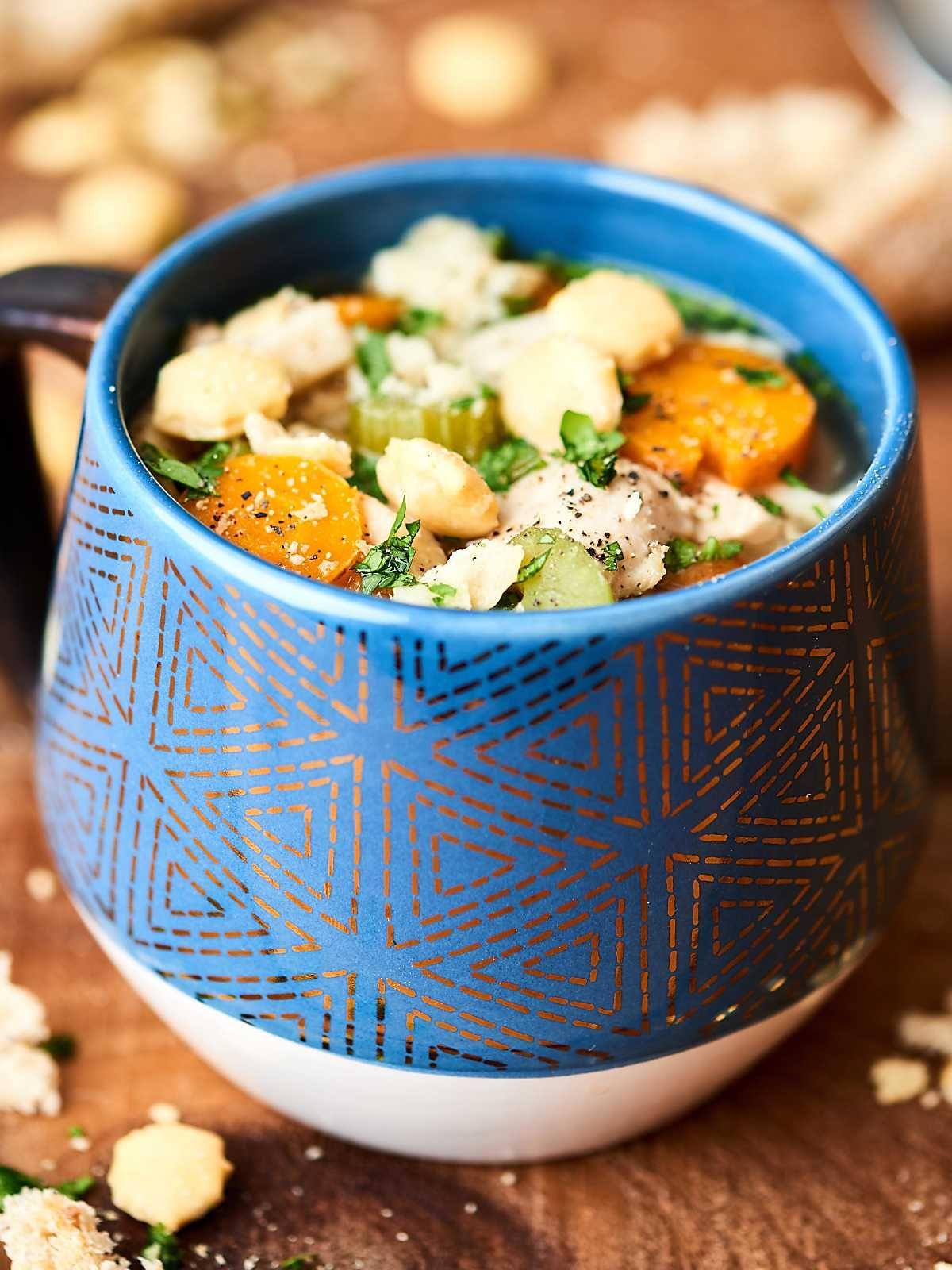 instant pot chicken noodle soup  recipe  soup recipes