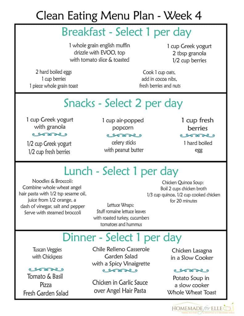 Free Clean Eating Meal Plan On A Budget Free Clean Eating Meal Plan Clean Eating Menu Clean Eating Diet Plan