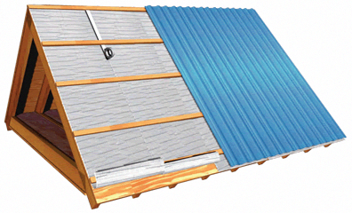 Pin By My Info On How To Install Metal Roof On Tiny Home Video Metal Roof Insulation Metal Roof Installation Roof Insulation