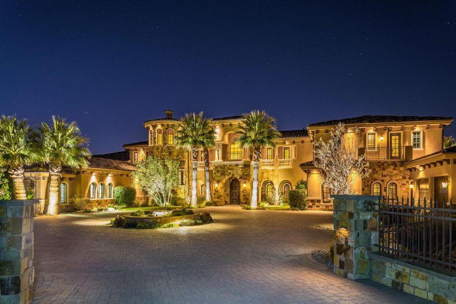Stunning Masterpiece Mediterranean Style Equestrian Mansion