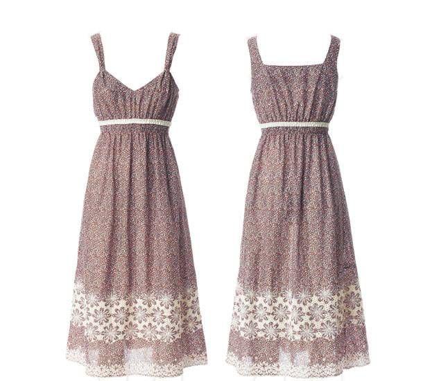 Schnittmuster: Kleid selber nähen - 8 luftige Ideen | Trägerkleid ...