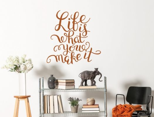 Wandtattoo Spruch Fr Deine Wohnzimmerwand Auf Englisch