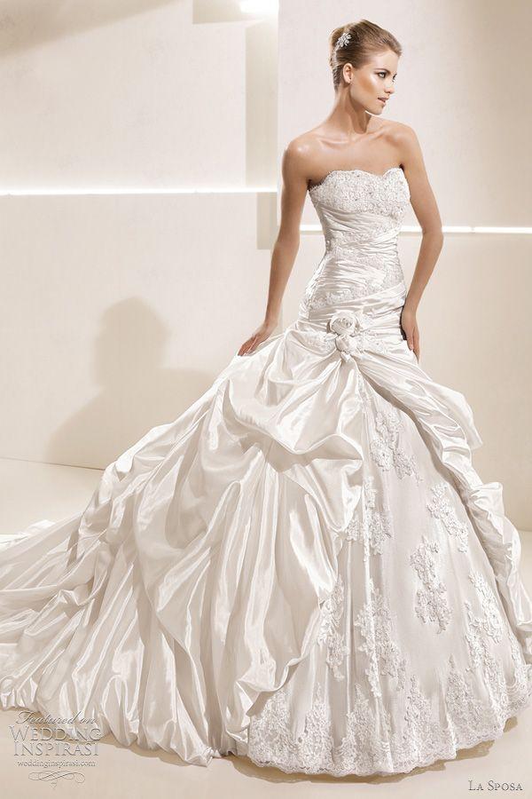 la sposa 2012 wedding dresses — ballgown bridal collection | boda