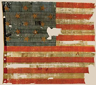 More On The Fort Mchenry Flag Major George Armistead Ordered A Flag From Seamstress Mary Star Spangled Banner American History Original Star Spangled Banner