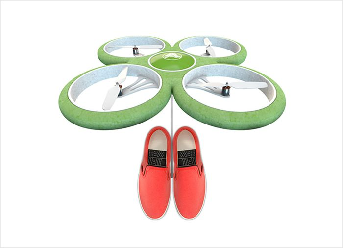 Drones en la tienda Crocs #retail #windows #vitrines #vitrinas #escaparates #visualmerchandising Pineado por Pilar Escolano