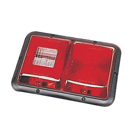 Bargman 34-92-704 Surface Mount Taillight #92-Replacement Lens w/Backup Lights Electrical