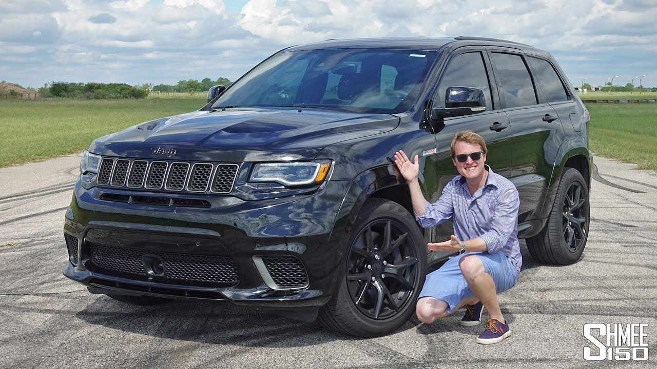 The Hennessey Jeep Trackhawk Hpe1000 Has More Power Than A Bugatti Veyron Jeep Bugatti Veyron Veyron