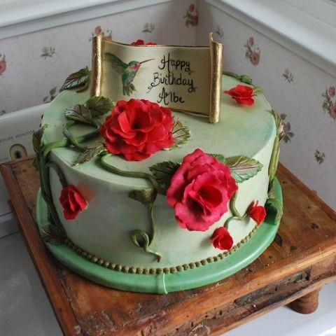 Elegant Birthday Cake Designs Food Pinterest Elegant