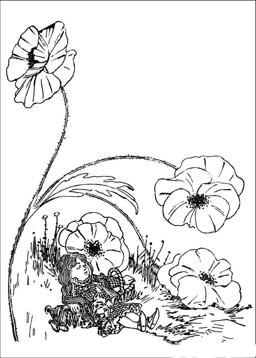 Wizard of Oz Coloring Pages | Art & Entertainment | Pinterest