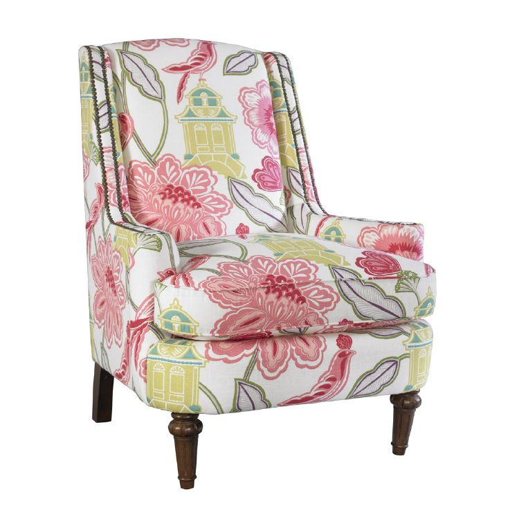 Colorful comfort abounds in Kincaid\'s new accent chairs at #HPmkt ...