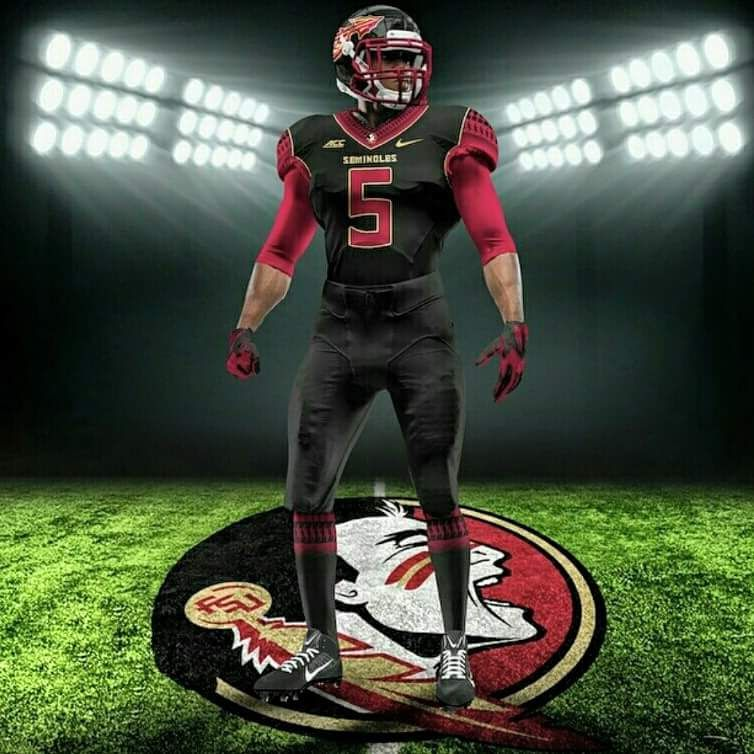 Back In Black Florida State Seminoles Football Noles Football Fsu Football