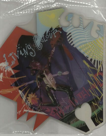 For Sale - Living Colour Love Rears It's Ugly Head UK  shaped picture disc (picture disc vinyl record) - See this and 250,000 other rare & vintage vinyl records, singles, LPs & CDs at http://eil.com