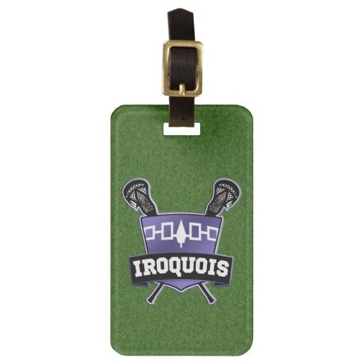 Iroquois Lacrosse Luggage Tag Template Tag templates, Iroquois - luggage tag template