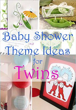 twin baby shower themes, including dr. seuss, peas in a pod, Baby shower invitation