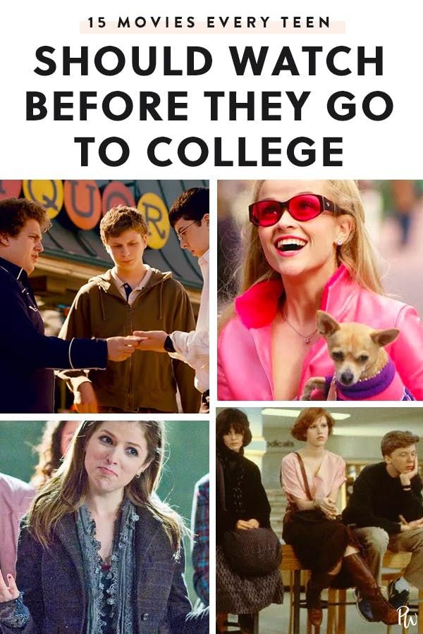 15 Movies Every Person Should Watch Before They Go to College #moviestowatch