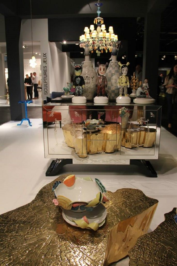 Boca do Lobo with Lladro at IMM Cologne 2014 High point, Interiors