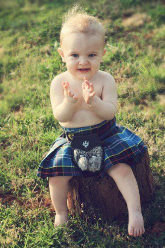 Need To Write A Scottish Romance Where The Hero And Heroine End Up With This Little Dude