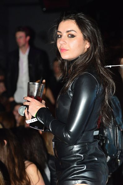 charli xcx attends galore celebrates the music issue with cover girl