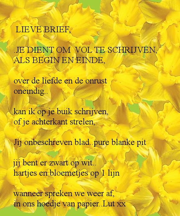 LIEVE BRIEF, .JE DIENT OM VOL TE SCHRIJVEN, | be my guest | Pinterest