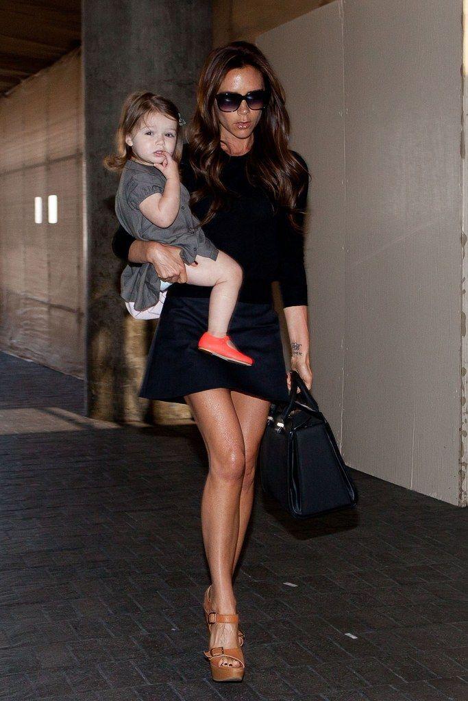 Stylish Celebrity Mom Victoria Beckham