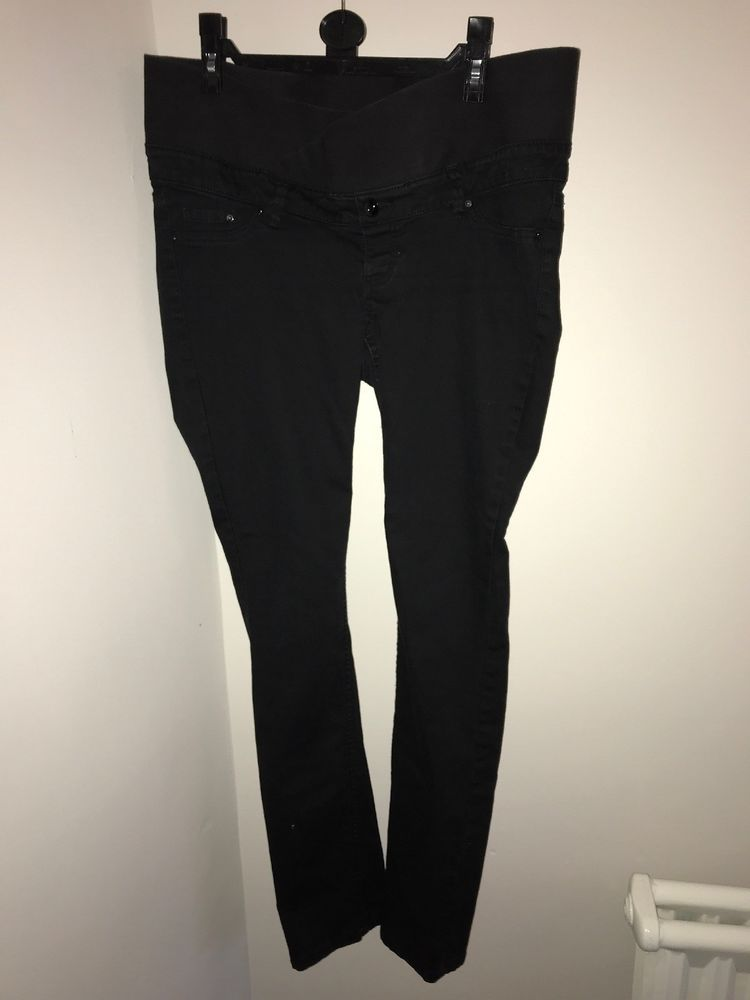 7bbf10e9a50a2 H&M Maternity Jeans TALL Size 14 #fashion #clothing #shoes #accessories  #womensclothing #maternity (ebay link)