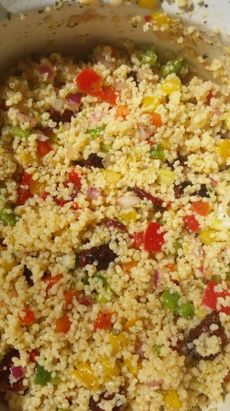 how much couscous to eat when dieting