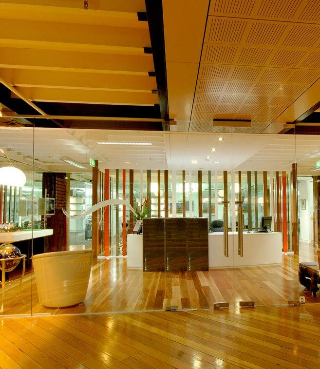 Walsh Bay, Commercial Office - Reception  Built by www.parkviewgroup.com.au