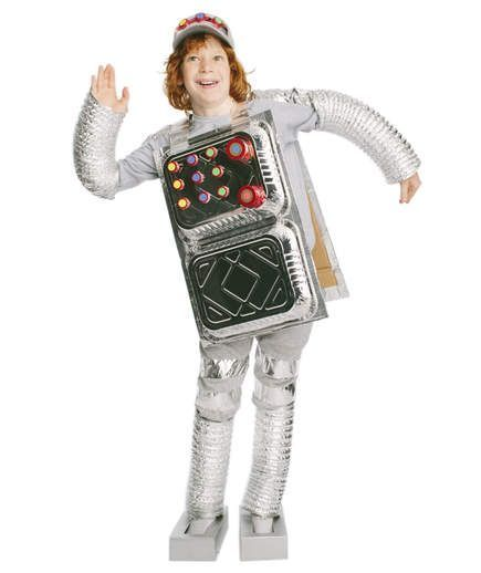 удобно картинки для костюма робот можно попробовать