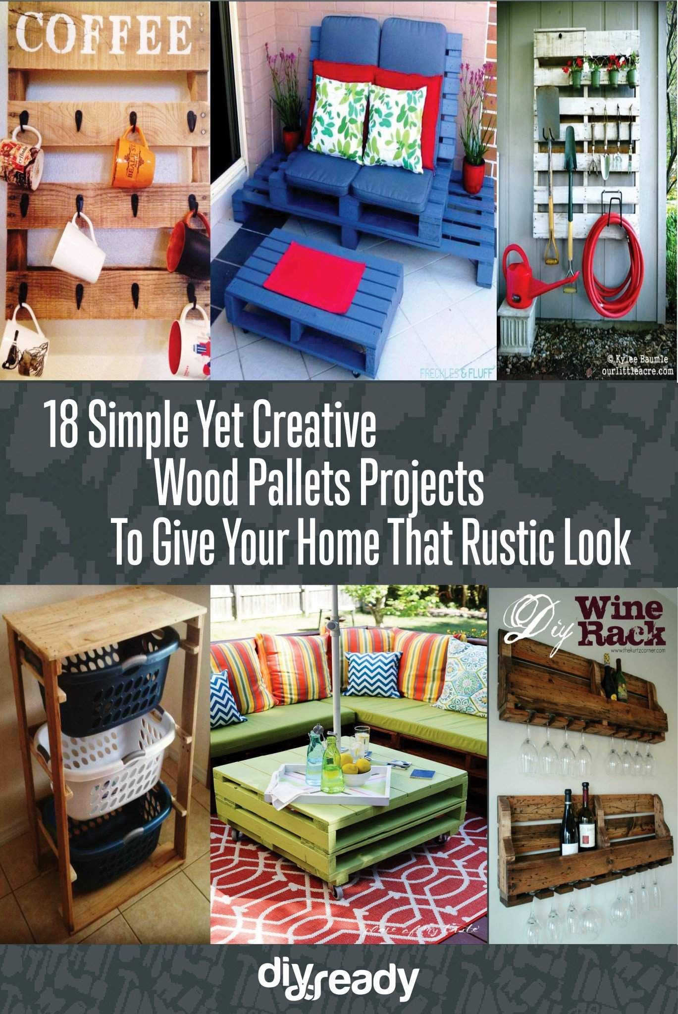 Creative Wood Pallet Projects Diy Home Decor Diy Home