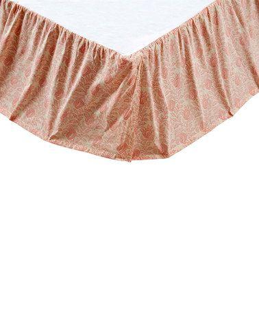 Loving this Genevieve Bed Skirt on #zulily! #zulilyfinds