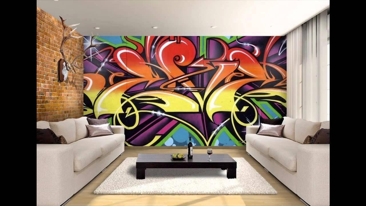 Graffiti Wallpaper Bedroom Walls | Bedroom Design | Pinterest ...