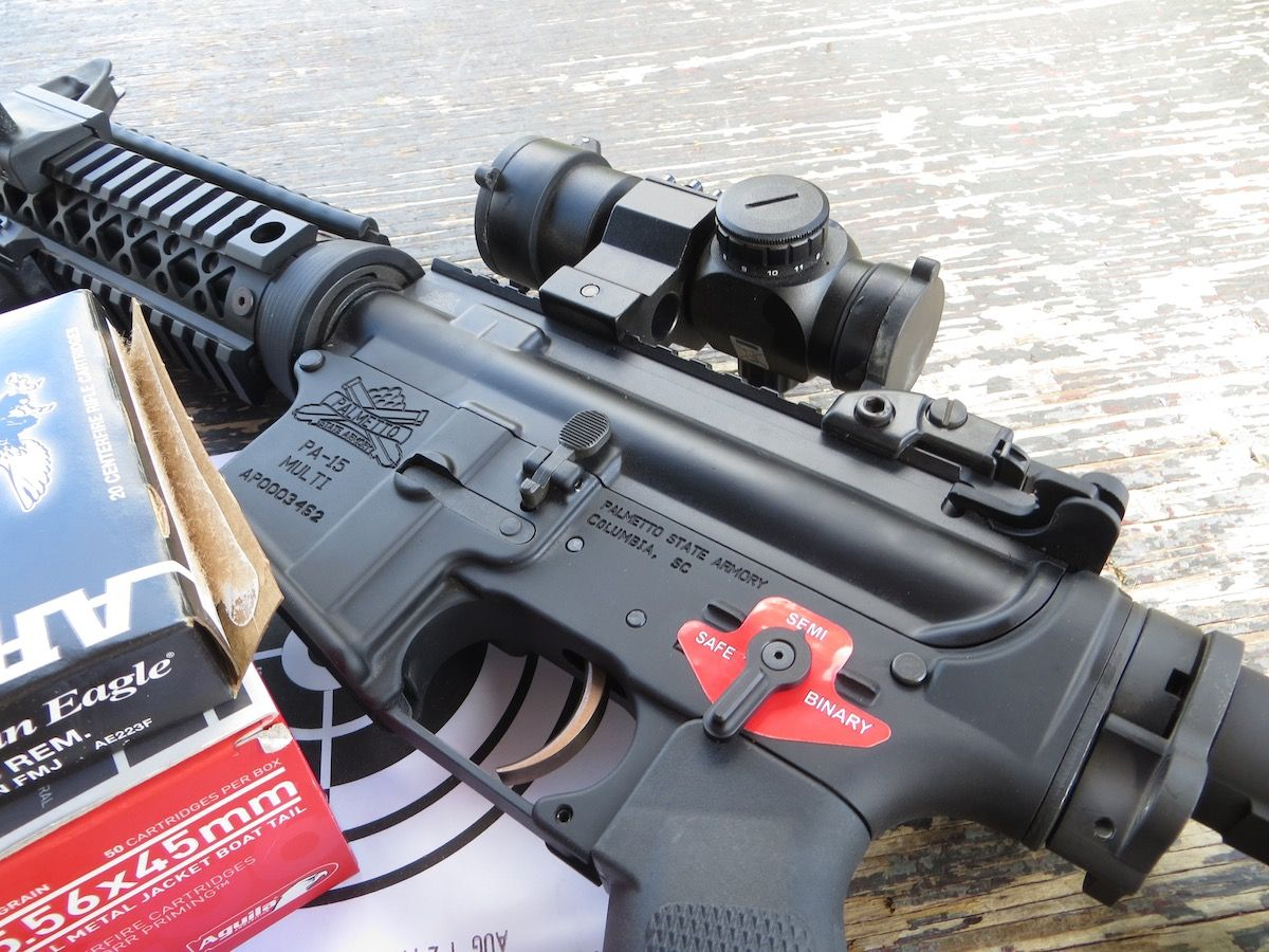 The Franklin Armory Binary Firing System drop-in AR-15