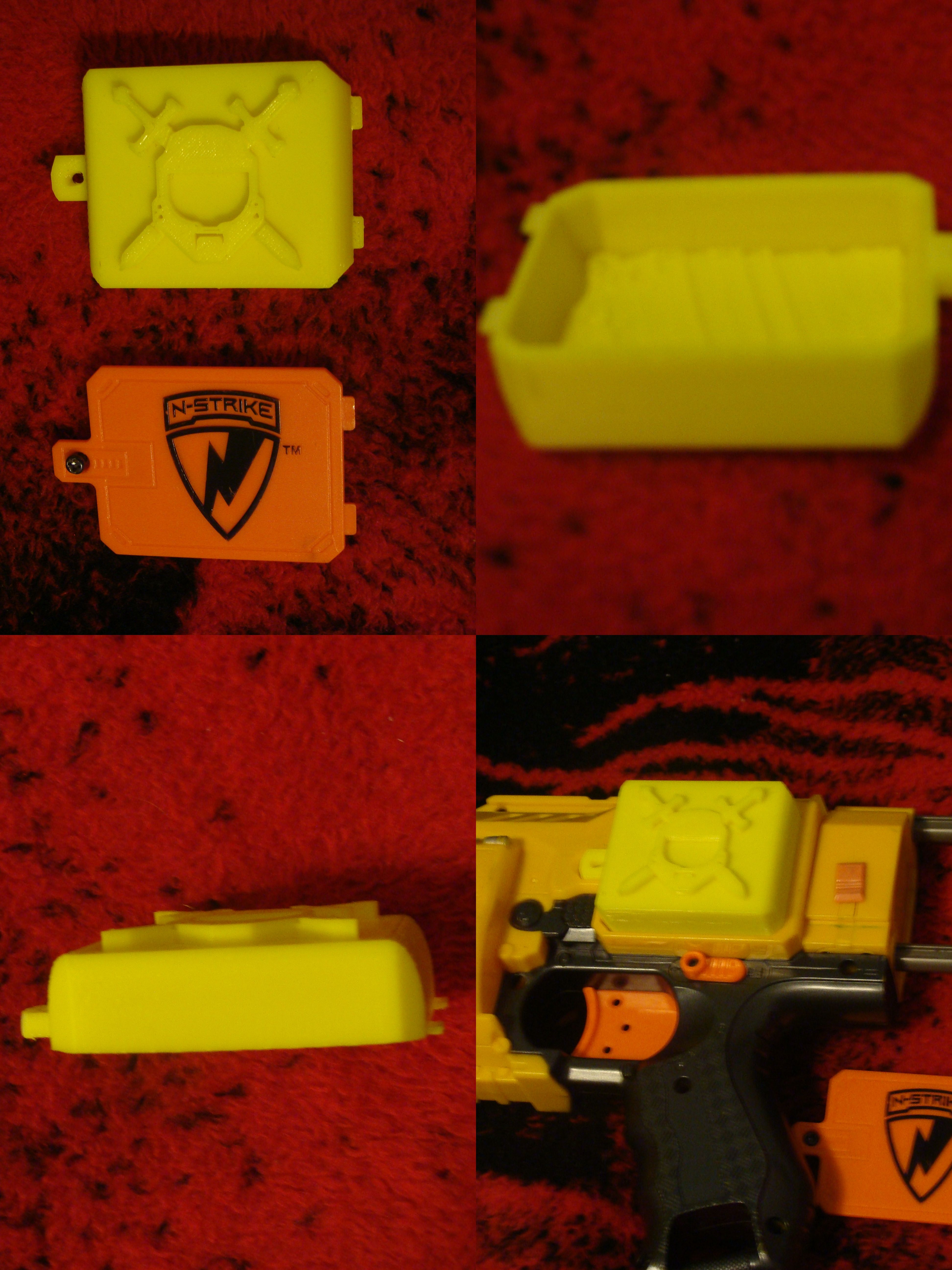 Color printing el paso tx - Custom Printed Battery Cover For Nerf Barricade Rv 10 New Spartan Gun By Dusty Plastics In El Paso Tx