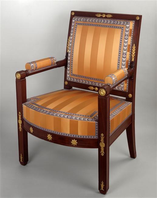 Pierre Benoit Marcion Fauteuil D Une Paire 1809 Chaise Art Deco Meuble De Style Meuble