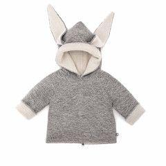 "Oeuf NYC Wendepullover mit Kapuze ""Donkey"""
