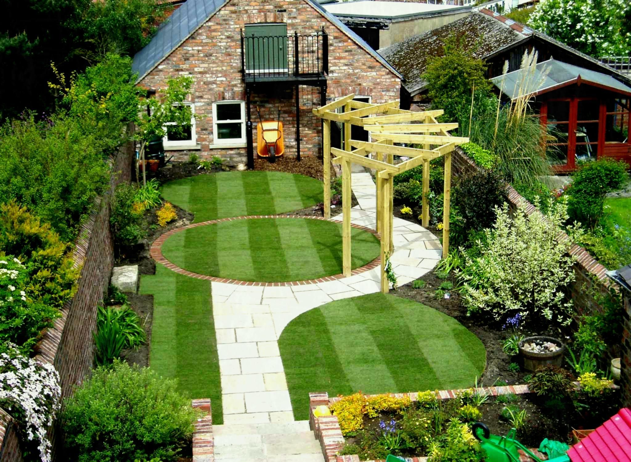 With Cheap Then Water Lawn Garden Ideas Uk Small Front Design And ...