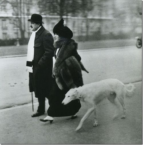 Fevrier Paris Avenue Du Bois Du Boulogne Le Matin Jacques Henri Lartigue 1912 Vintage Dog Robert Doisneau Old Paris