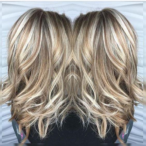 Untitled Hair Lengths Hair Styles Hair Highlights
