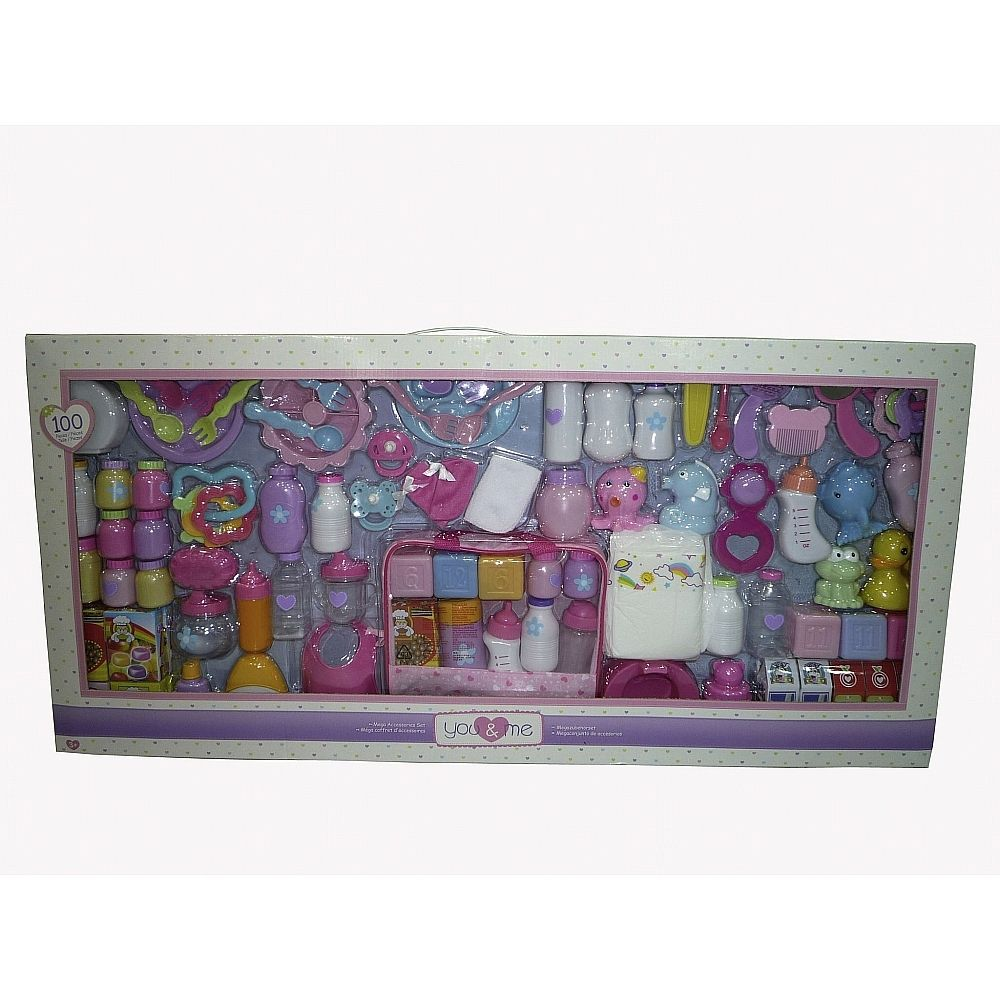 You Amp Me Puppenpflege Set 100 Teilig You And Me Toys