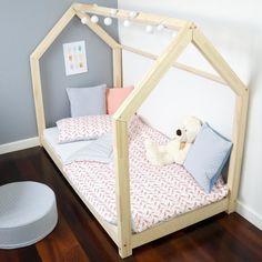Kinderbett Kinderhaus Bett Für Kinder 29 Dimensions BETT HOLZ | EBay