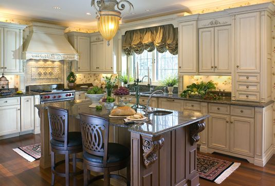 beauty by design this country french themed kitchen features mouser custom cabinetry let. Black Bedroom Furniture Sets. Home Design Ideas