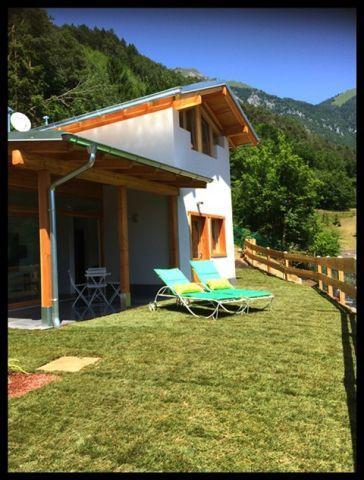 Traumhaus Mit Eingezäunten Garten Seeblick Zum Ledrosee Urlaub