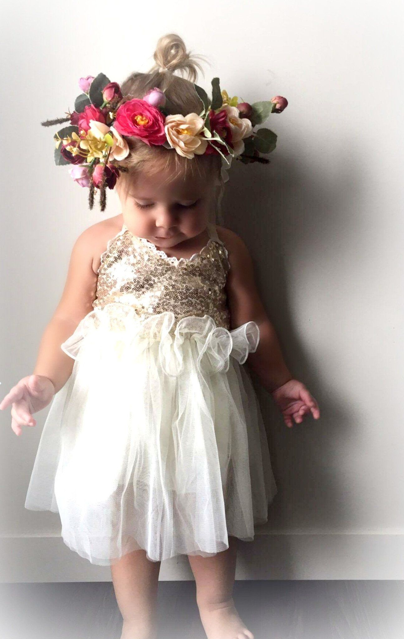 Searching For Baby Birthday Dress Online Visit Us And Stunning Cream Cold Tulle Your Little Princess Special Occasion Dresses Available