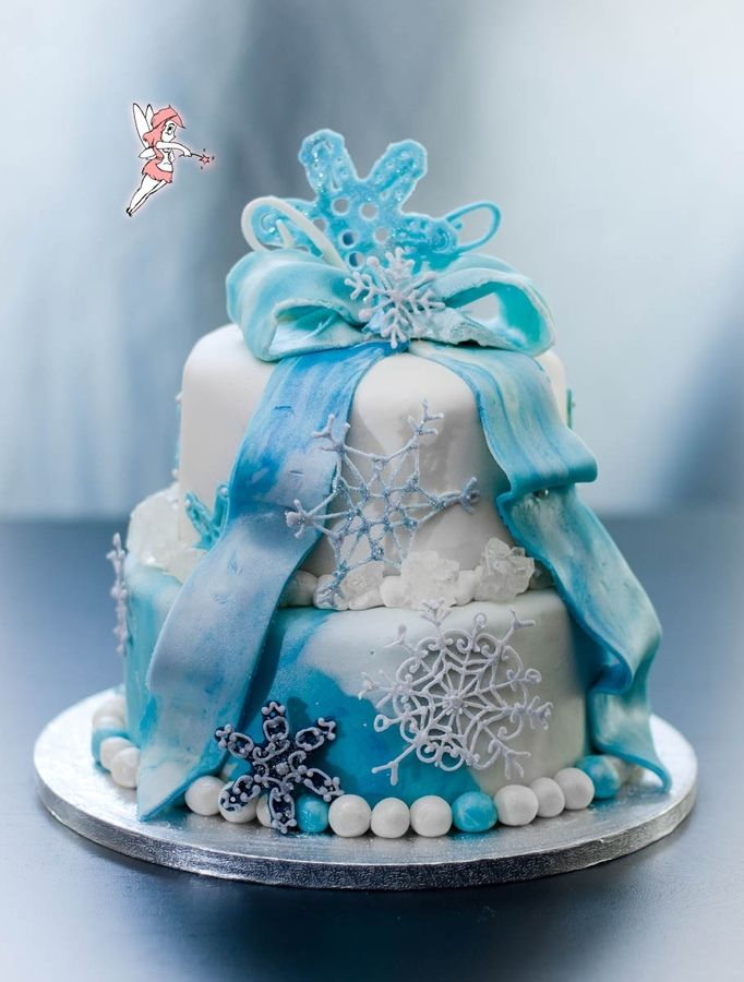 Winter Wonderland Birthday Cakes For  Year Old Girls Cake For - Birthday cake 8 year old