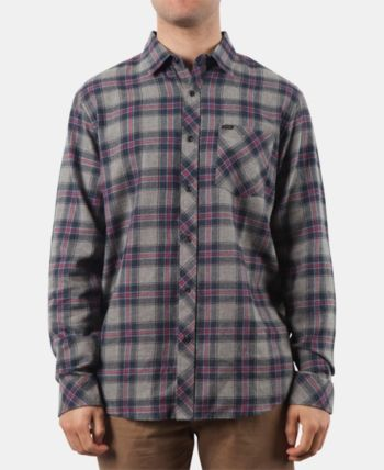 7d5be2c406 Rip Curl Men's Dayton Plaid Flannel Shirt - Blue XL | Products in ...