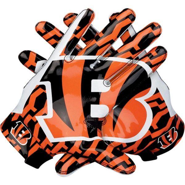 Nike Cincinnati Bengals Vapor Fly Team Authentic Series Gloves Nflshop Com Football Gloves Bengals Football Nike Gloves